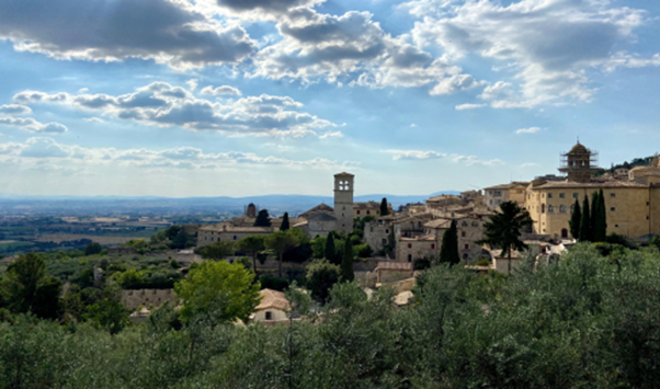 Alessio Patron - A View from the hills, Assisi – Italy