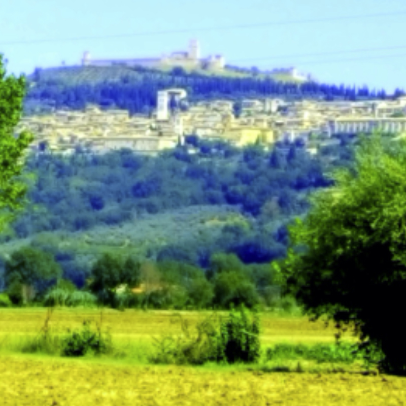 Hilltop town of Assisi