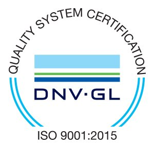 Quality System Certification ISO 9001 : 2015
